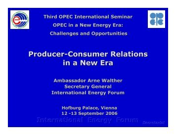 Producer-Consumer Relations in a New Era