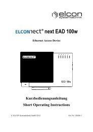 EAD 100w - Elcon Systemtechnik