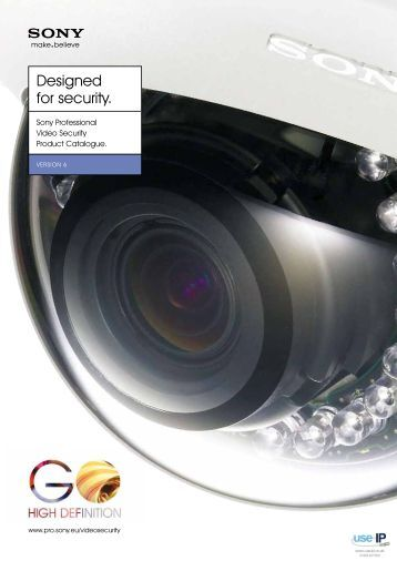 Sony Product Catalogue Version 6 - Use-IP