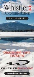 101040 resort ac brochure - Whistler Accommodations