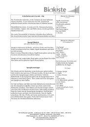Rezepte für KW 2412 - Hof Kotthausen