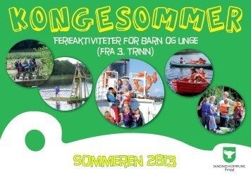 Kongesommer 2013 - Sandnes Kommune