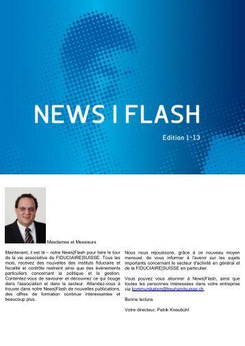 News|Flash - Edition 1-13