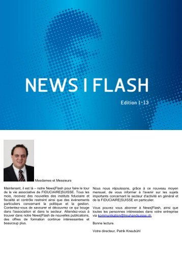 News|Flash - Edition 1-13