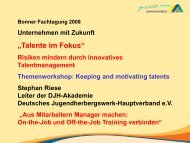 Präsentation - Bonner Fachtagung
