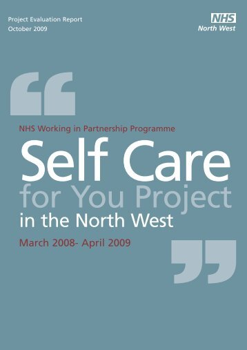 Wipp Self Care for You - NHS North West