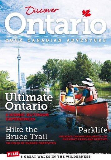 Discover Ontario - Ontario Tourism