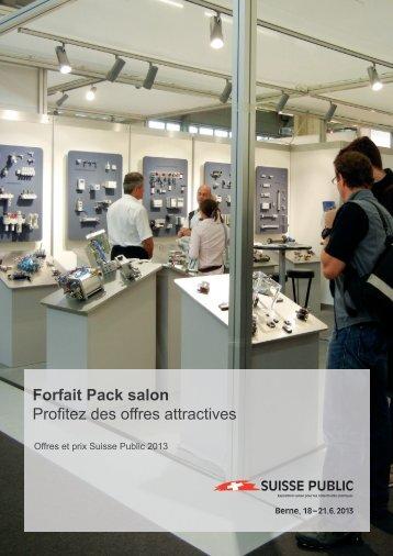 Forfait Pack salon Profitez des offres attractives - Suisse Public