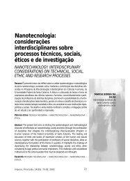 Nanotecnologia: considerações interdisciplinares sobre ... - Unimep