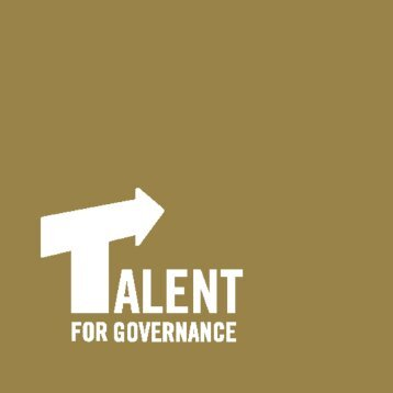2. basic characteristics of the talent for governance ... - becas segeplan
