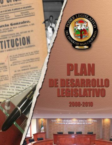 plan de desarrollo legislativo_ed10_v12.cdr - Congreso del Estado ...