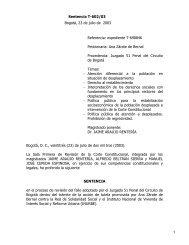 Sentencia T-602/03 del 23 de julio de 2003. Ana Zárate de ... - Acnur