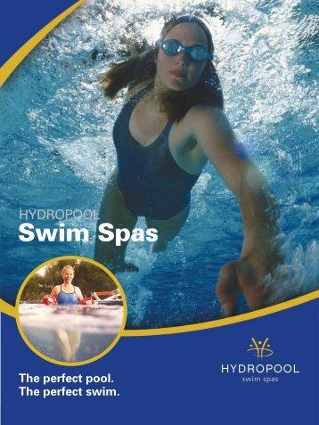 Hydropool Swim Spas - Riviera Swimming Pools