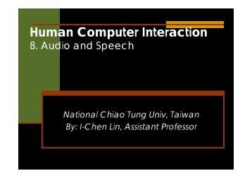 Audio and Speech
