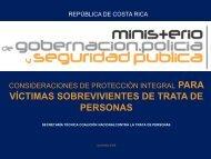 La protección de las víctimas de trata de personas. Costa Rica - Acnur