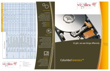 ColumboForensics™ - Pyramid Cyber Security & Forensic