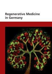 Regenerative Medicine in Germany - Biotechnologie