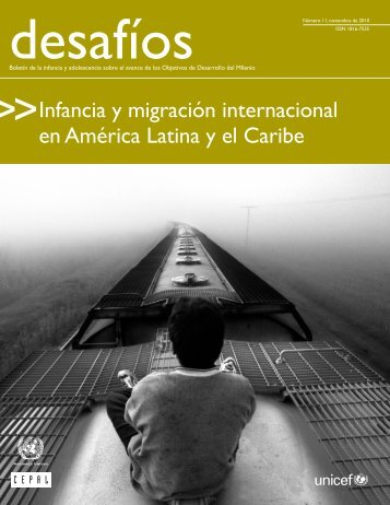 Infancia y migración internacional en América Latina y el Carib - Acnur