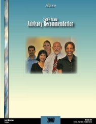 2007 Salary Recommendation - Arizona Human Resources