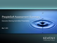 PeopleSoft Assessment Summary - City of Albuquerque