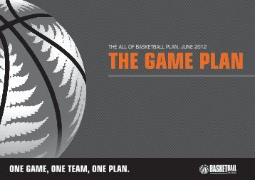 The Game Plan - Basketball New Zealand