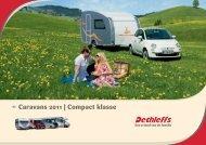 Caravans 2011 | Compact klasse - Dethleffs