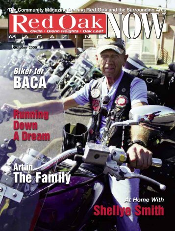 Biker for BACA - Now Magazines