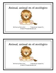 Animal, animal en el zoológico Animal, animal en ... - Little Book Lane