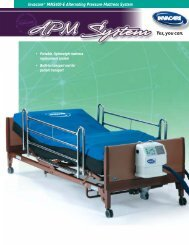Invacare® MNS400-E Alternating Pressure Mattress System