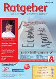 Gute Beratung - Eichendorff-Apotheke