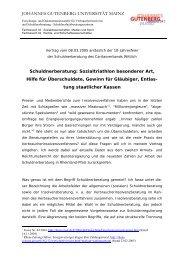 Überarbeitete und aktualisierte Version des Vortrags im PDF-Format