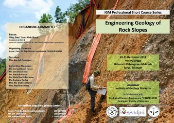 Engineering Geology of Rock Slopes