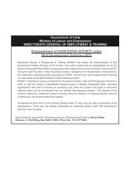 Karnataka German Multi Skill Development Centres - Directorate of