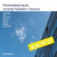 v elektronické podobě ve formátu PDF - Přírodovědecká fakulta ...