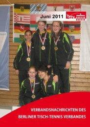 Verbandsnachrichten Juni 2011 - Berliner Tisch-Tennis Verband