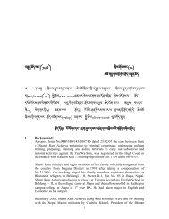 JUDGEMENT NO - Royal Court of Justice, Bhutan