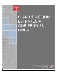 SOLICITUD DE INFORMACIÓN - Gobierno en línea.