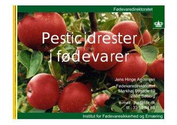 Fødevaredirektoratet Institut for Fødevaresikkerhed ... - LandbrugsInfo