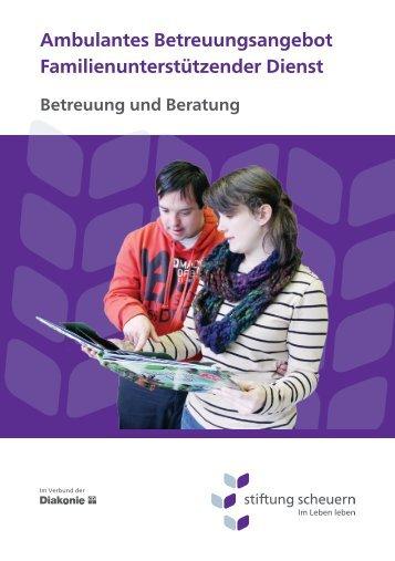 Familienunterstützender Dienst - Stiftung Scheuern
