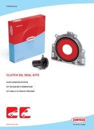 clutch oil seal kits - Corteco