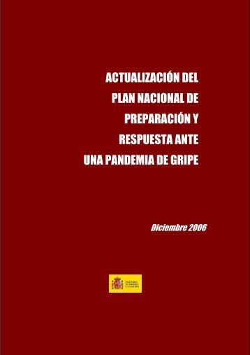 actualización del plan nacional de preparación y respuesta ante ...