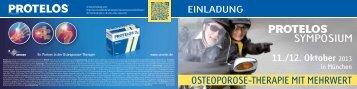 OSTEOPOROSE-THERAPIE MIT MEHRWERT