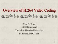 PPT Overview of H.264 video coding - Incospec Communications Inc.