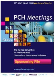 Sponsoring File - PCH Meetings