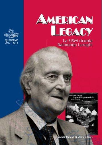 Il quaderno Sism 2012-2013 - Societa italiana di storia militare