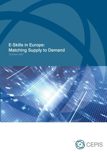 E-Skills in Europe: Matching Supply to Demand