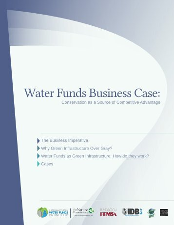 Download the Water Funds Business Case report PDF - SABMiller