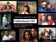 Fatherhood 101 - Clay County Collaborative