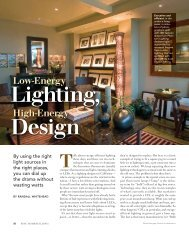 High Energy Design - Randall Whitehead Lighting Solutions