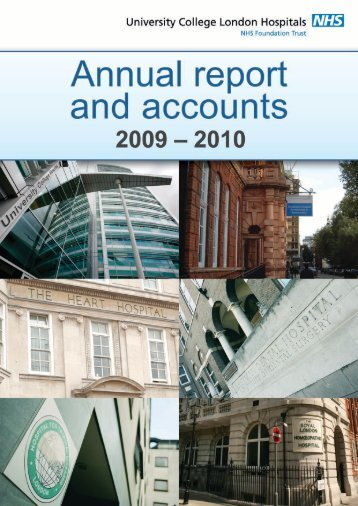 Annual report and accounts 2009/10 - University College London ...